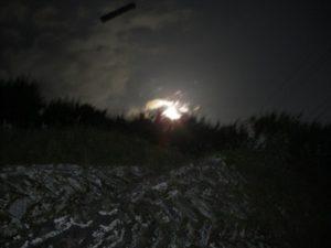 ほたる祭りの月夜